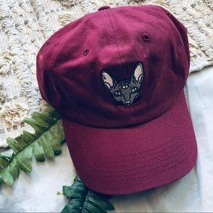 Urban Outfitters Illuminati Siamese Cat Hat